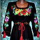 Dress-vyshivanka 'Damskiy Kapriz'. Dresses. Individual vyshivanka. (oksanetta). Online shopping on My Livemaster.  Фото №2
