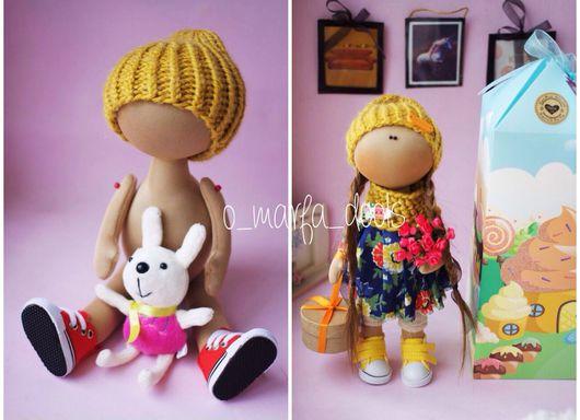 Куклы тыквоголовки ручной работы. Ярмарка Мастеров - ручная работа. Купить Заготовка для куклы. Handmade. Бежевый, кукольный трикотаж