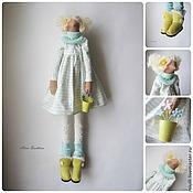 """Куклы и игрушки ручной работы. Ярмарка Мастеров - ручная работа Тильда """"Весеннее настроение"""". Handmade."""