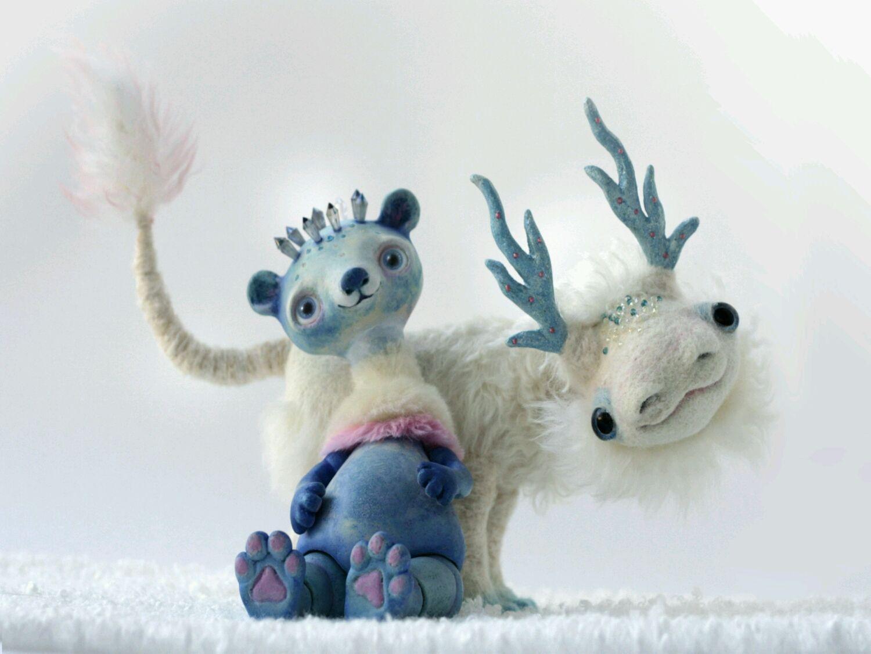 Авторская композиция - Хранители Севера, Шарнирная кукла, Псков,  Фото №1