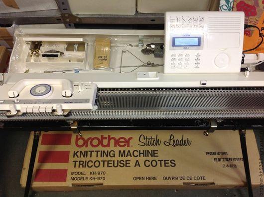 Вязание ручной работы. Ярмарка Мастеров - ручная работа. Купить Вязальная новая машина Бразер KH-970 (brother KH-970). Handmade.