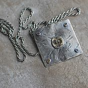 Украшения handmade. Livemaster - original item Antique pendant, silver. Handmade.