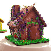 Сувениры и подарки handmade. Livemaster - original item Gingerbread forest house. Handmade.