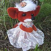 """Куклы и игрушки ручной работы. Ярмарка Мастеров - ручная работа Лисичка """"Полечка"""". Handmade."""