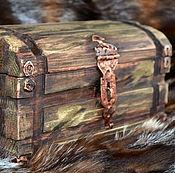 """Для дома и интерьера ручной работы. Ярмарка Мастеров - ручная работа Сундук-шкатулка """"Тайна времён""""-2. Handmade."""