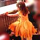 """Одежда для девочек, ручной работы. Ярмарка Мастеров - ручная работа. Купить Авторское  платье ручной работы """"Солнышко"""". Handmade. Желтый"""