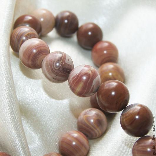 Для украшений ручной работы. Ярмарка Мастеров - ручная работа. Купить ГИКОРИТ (ореховый камень) бусины мексикаского риолита. Handmade.