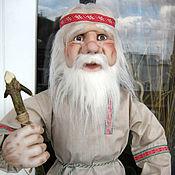 Куклы и игрушки ручной работы. Ярмарка Мастеров - ручная работа Кукла Дед-славянин. Handmade.