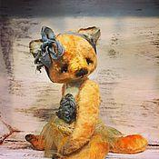 Куклы и игрушки ручной работы. Ярмарка Мастеров - ручная работа Лиса Тедди Пепита. Handmade.