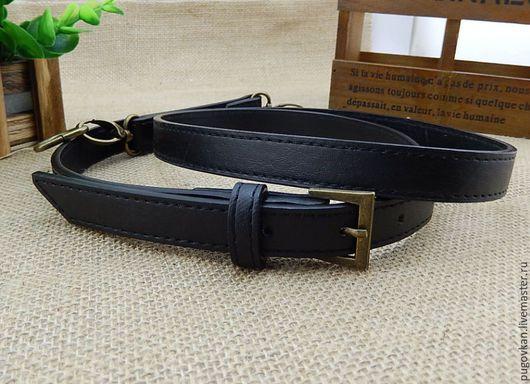 Другие виды рукоделия ручной работы. Ярмарка Мастеров - ручная работа. Купить Ремень для сумки 120-130 см (черный). Handmade.