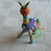 """Куклы и игрушки ручной работы. Ярмарка Мастеров - ручная работа Погремушка """"Лошарик """". Handmade."""