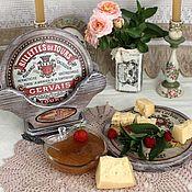 Доски ручной работы. Ярмарка Мастеров - ручная работа Набор сырных досок на подставке, доски для сервировки стола. Handmade.