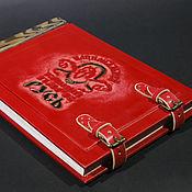 Канцелярские товары ручной работы. Ярмарка Мастеров - ручная работа Книга отзывов, со сменным блоком. Handmade.