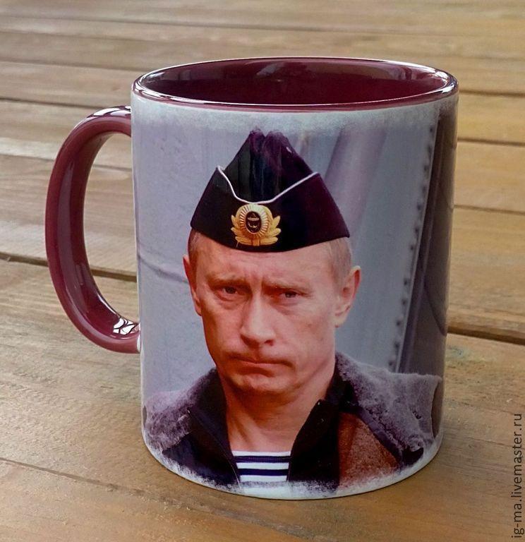 Кружки с Путиным фото