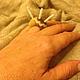 """Кольца ручной работы. войлочное бохо-кольцо """"САХАРА"""". 'О-Val'   Ирина Соколова. Ярмарка Мастеров. Украшение на руку"""