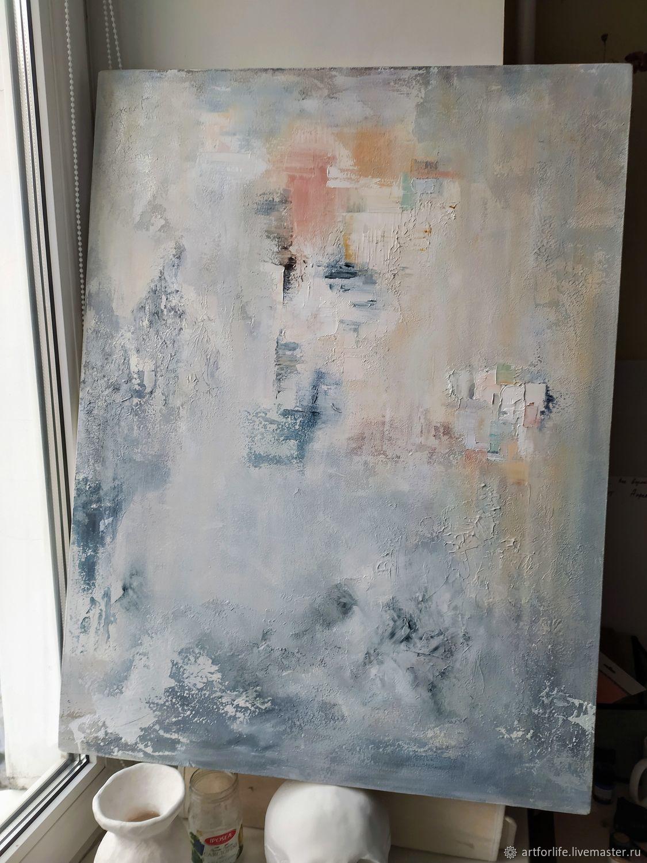 Современная картина абстракция в интерьер, картина в стиле лофт, Картины, Санкт-Петербург,  Фото №1