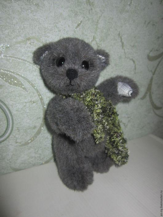 Мишки Тедди ручной работы. Ярмарка Мастеров - ручная работа. Купить Мишаня. Handmade. Серый, мишка, шплинтовое крепление