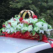 Свадебный салон ручной работы. Ярмарка Мастеров - ручная работа Свадебные украшение для машин. Handmade.