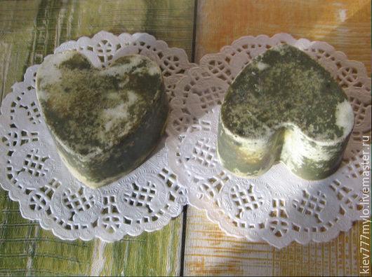"""Мыло ручной работы. Ярмарка Мастеров - ручная работа. Купить КРАПИВА (серия """"Природа""""). Handmade. Тёмно-зелёный, крапива, подарок"""