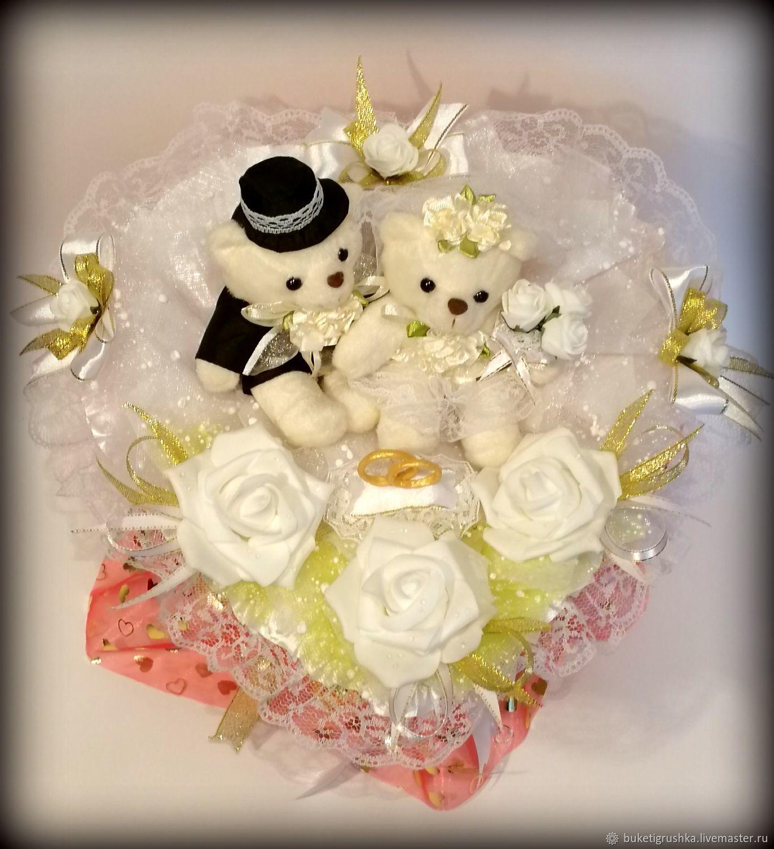 месяц фото подарочных букетов для свадьбы прошлого года