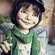 Коллекционные куклы ручной работы. Ярмарка Мастеров - ручная работа. Купить Захарушка. Handmade. Хаки, хулиган, уютный дом, текстиль