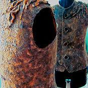 Одежда handmade. Livemaster - original item Vest Mustard. Handmade.