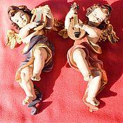 Винтаж handmade. Livemaster - original item Tyrolean Angels. Woodcarving.. Handmade.