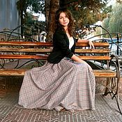 Одежда handmade. Livemaster - original item Skirt in tartan floor