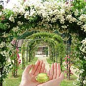 """Косметика ручной работы. Ярмарка Мастеров - ручная работа """"Дневной сон на летней веранде"""" - арома-бальзам, твердые духи. Handmade."""