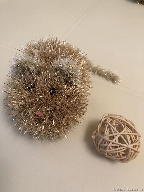 Золотая мышка, Мягкие игрушки, Набережные Челны,  Фото №1