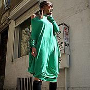 Платья ручной работы. Ярмарка Мастеров - ручная работа Платье Морская волна. Handmade.