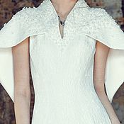 Одежда ручной работы. Ярмарка Мастеров - ручная работа Вышивка на платье, размер 180 на 180 см. Handmade.