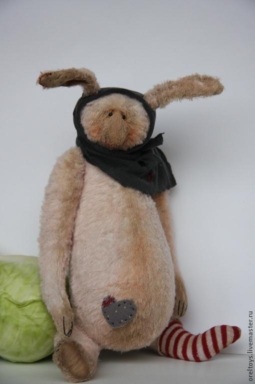 Мишки Тедди ручной работы. Ярмарка Мастеров - ручная работа. Купить Попрызаюшка сиротка. Handmade. Бледно-розовый, orel olga