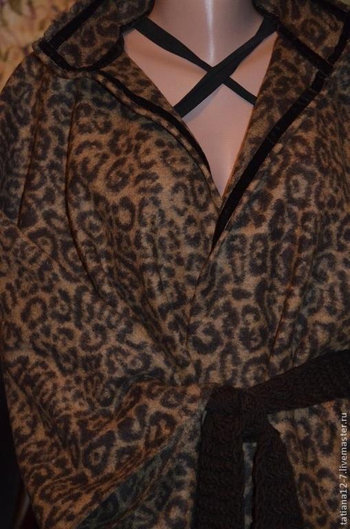 """Верхняя одежда ручной работы. Ярмарка Мастеров - ручная работа. Купить """"Just Cavalli""""  and """" Naomi""""  пальто ручной работы. Handmade."""
