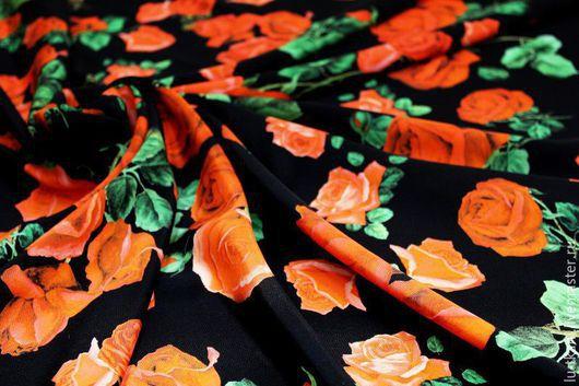 Шитье ручной работы. Ярмарка Мастеров - ручная работа. Купить Итальянский шелк D&G. Handmade. Разноцветный, шикарное платье