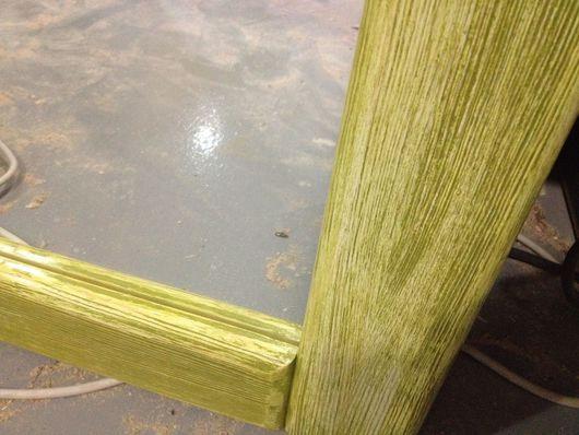 Зеркала ручной работы. Ярмарка Мастеров - ручная работа. Купить Зеркало 70х90. Handmade. Зеркало, зеленый, деревянный