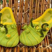 Обувь ручной работы. Ярмарка Мастеров - ручная работа Кабачки цветут. Handmade.