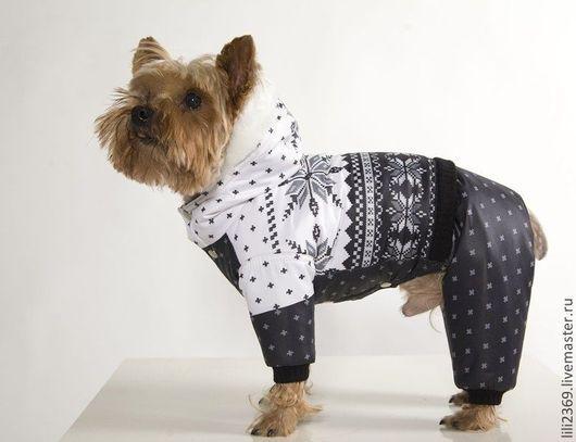 Одежда для собак, ручной работы. Ярмарка Мастеров - ручная работа. Купить Комбинезон Арктика. Handmade. Собаки, комбинезон, флис