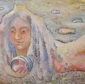 Картины и панно ручной работы. Ярмарка Мастеров - ручная работа Туманная русалка. Handmade.