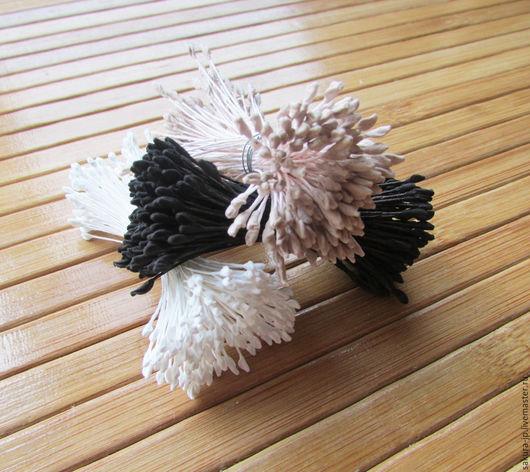 Японские тычинки М-размер. `САКУРА` - материалы для цветоделия.