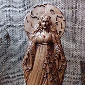 Для дома и интерьера handmade. Livemaster - original item Nyx (Nikta, Nyukta) goddess of the night, altar figurine. Handmade.