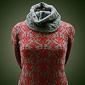Одежда ручной работы. Ярмарка Мастеров - ручная работа Марракеш. Женский зимний свитер. Handmade.