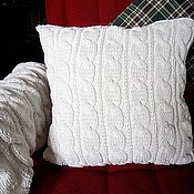 Для дома и интерьера ручной работы. Ярмарка Мастеров - ручная работа Наволочка/Чехол на диванную подушку. Handmade.
