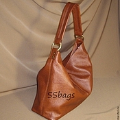 Сумки и аксессуары handmade. Livemaster - original item Bag brown, soft, feminine.To buy a leather bag.. Handmade.