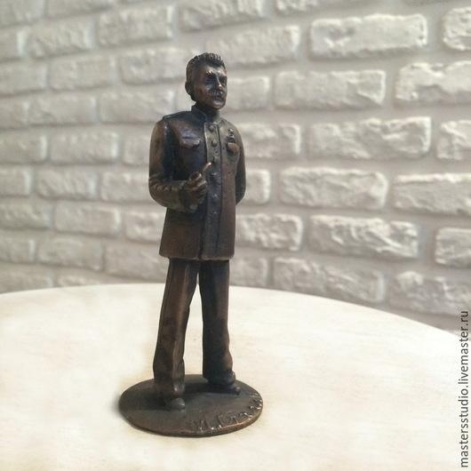 Миниатюрные модели ручной работы. Ярмарка Мастеров - ручная работа. Купить И. Сталин. Handmade. Разноцветный, сталин, оловянная миниатюра