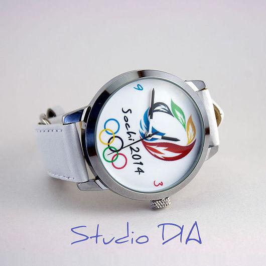 Оригинальные Дизайнерские Часы Олимпиада Сочи 2014. Студия Дизайнерских Часов DIA.