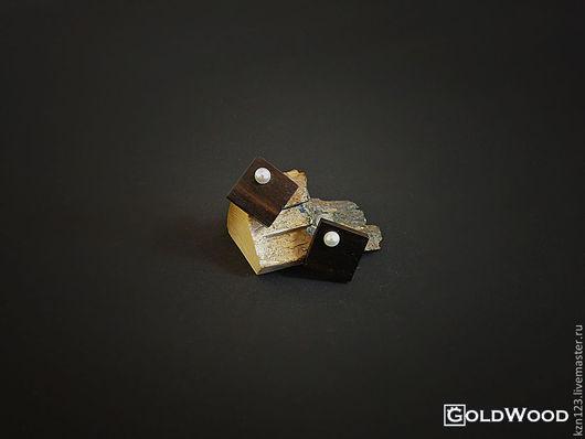 """Серьги ручной работы. Ярмарка Мастеров - ручная работа. Купить Серьги """"Pearl'. Handmade. Черный, жемчуг, сережки, серьги на заказ"""