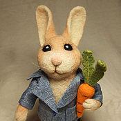 Куклы и игрушки ручной работы. Ярмарка Мастеров - ручная работа Игрушка Кролик Питер. Handmade.