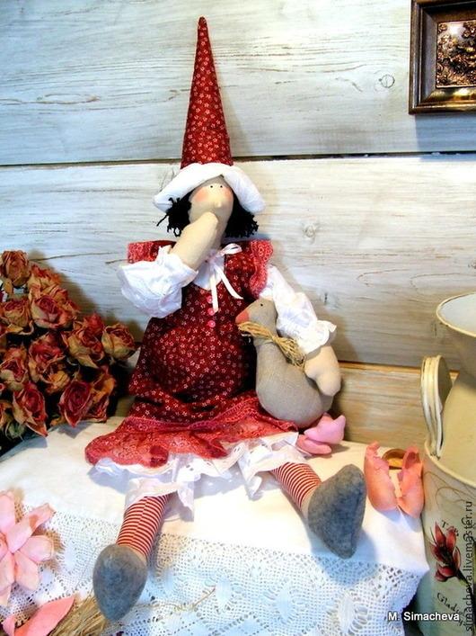 Куклы Тильды ручной работы. Ярмарка Мастеров - ручная работа. Купить Птичница Мари. Handmade. Птичница, подарок на любой случай