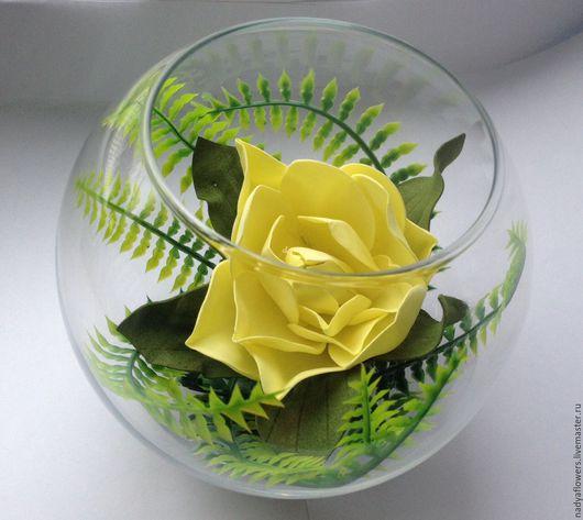 Цветы из фоамирана для интерьера. Цветы для оформления. Заказать на Ярмарке мастеров. Тимченко Надежда.